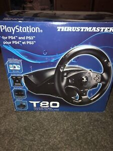 Thrusmaster t80 racing wheel for ps4
