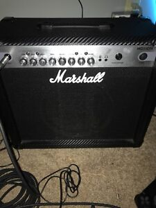 Marshall amp + pedals for a boss katana