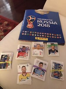 Soccer World Cup Panini Stickers
