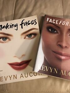 Kevin Aucoin makeup books