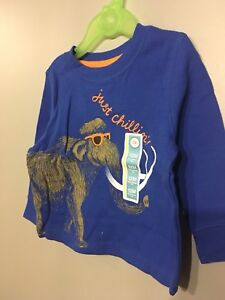 Size 12 months, boy outfit, shirt & 2 pants, NWT