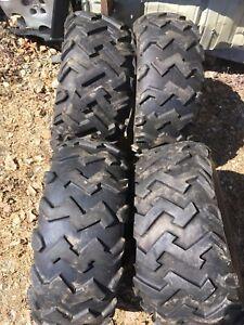 "Set of 4 ATV Tires 11"""