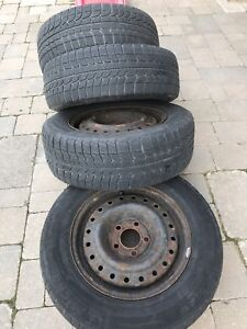 4 Michelin X-Ice Snow Tires. 205/65/R15