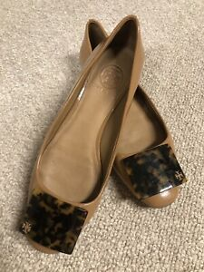 8e74848c07df Tory Burch Patent Leather Flats Size 7