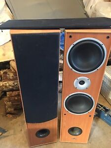 Yamaha 5.1 stereo with floor speakers