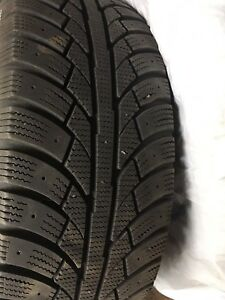 (4) winter rims and tires for Honda Civic
