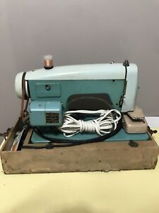 White brand vintage sewing machine