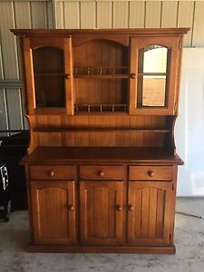 2 Piece Wood Hutch Warwick Southern Downs Preview