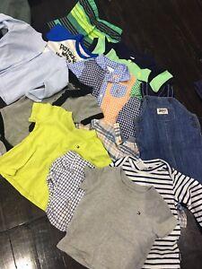 Bundle of boys clothing size 00