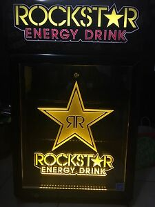 *** BRAND NEW LED ROCKSTAR MINI FRIDGE!!!***