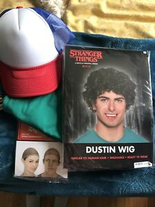 "Stranger Things ""Dustin"" Halloween Costume"