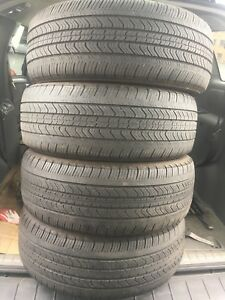 4-215/55R17 Michelin primacy all season