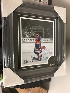 Taylor Hall Signed and Framed Picture