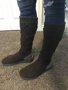 Authentic UGG sweater boots size 10
