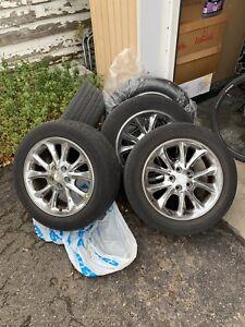 5 mag Chrysler aluminum 17 pouces 5x108