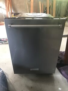 Almost New Dishwasher, Stainless