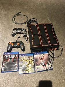 Ps4 console black ops 1tb