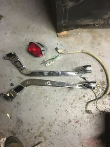 Harley softail struts and lights