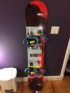Nitro haze snowboard combo