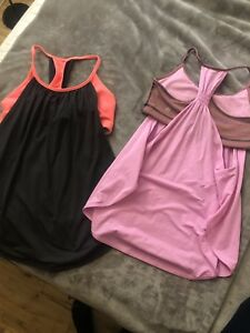 Lulu Tanks and racers size 4