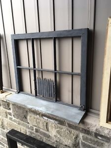 Repurposed window frames