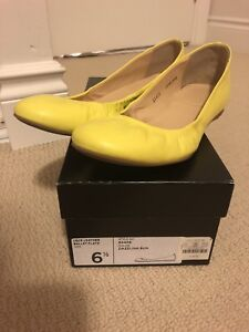 JCREW Cece Ballet Leather Flats Made in Italy 6.5 size