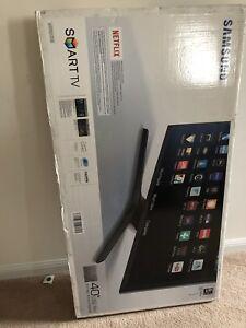 """Samsung LED 40"""" 1080 SMART TV UNOPENED $450"""