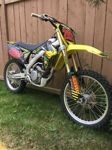 2014 Suzuki RMZ 250 trade for truck