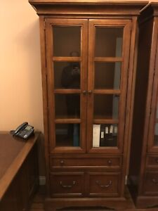 Solid Wood Home Office Suite