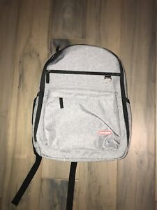 Brand New Skip Hop DUO Diaper Backpack, Heather Grey