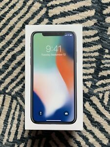 iPhone X- 64GB ( Includes 2 Brand New Leather Cases)