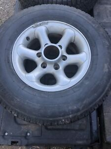 Chev 6 bolt rims and tires