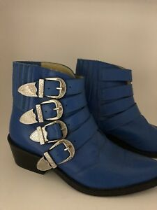 Toga Pull cowboy leather boot