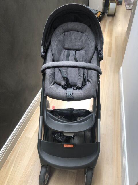 Stokke Crusi Grey Melange Sibling Seat Compatible Stroller Prams
