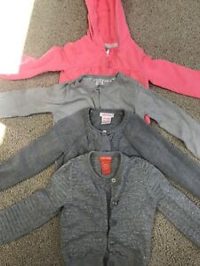 Carter/Jo Fresh 3 cardigans and 1 sweater size2 toddler