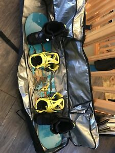 New Snowboard with Boots (size 11)