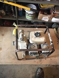 Water pump gas powered Honda