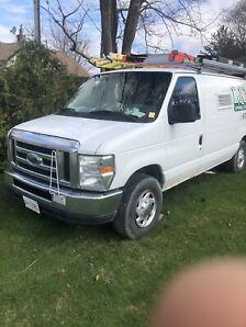 2008 E350 1 ton van with generator