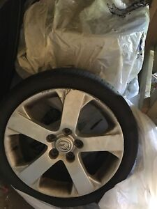 Two sets of Mazda tires
