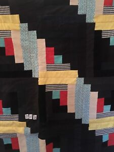 King size handmade lined quilt