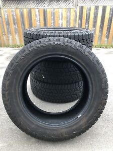 For sale. Hankook ATM 275/55R20