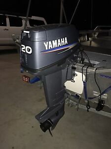 Yamaha  20HP Outboard Motor (2012) (Two-Stroke) (Short-shaft) Draper Brisbane North West Preview