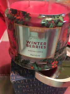 3 wick Partylite candle