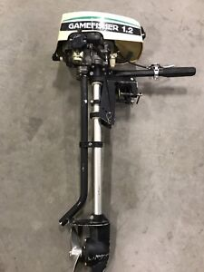 Gamefisher 1.2 hp outboard