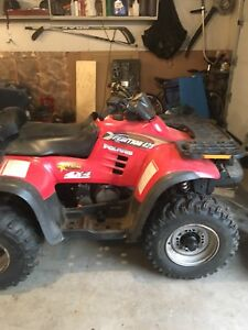 2000 Polaris Xpedition 425 with plow