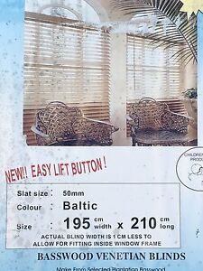 Venetian blind Baltic Wood Putney Ryde Area Preview