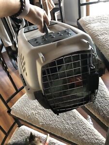Brand new small kennel used to fly in pup