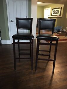 Two Matching Bar Stools