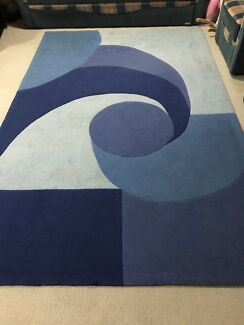 Stunning Blue Combination 6 Square Meters Rug x 2