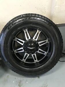 20x9 +11 eagle alloy wheels with 265/60r20 tires multi 6 bolt
